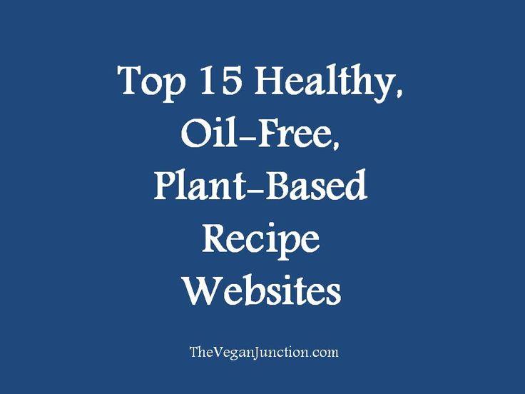 Best 25 recipe websites ideas on pinterest good food recipe top 15 healthy oil free plant based recipe websites the vegan junction forumfinder Gallery
