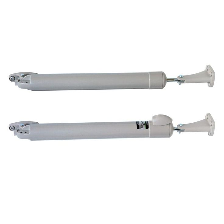 Touch\u0027n Hold Smooth Dual Kit (Sandstone) - Heavy Duty Pneumatic Door Closer