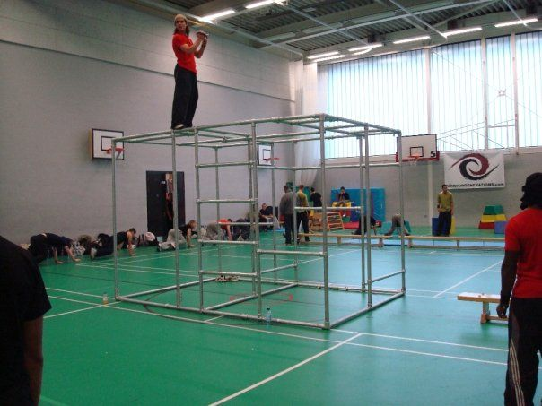 Learning How To Do Parkour In A Gym Wolo Weightofflifeon
