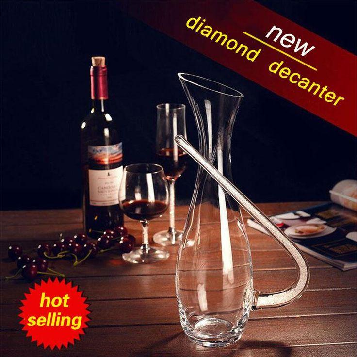 Crystal Diamond Red Wine Decanter