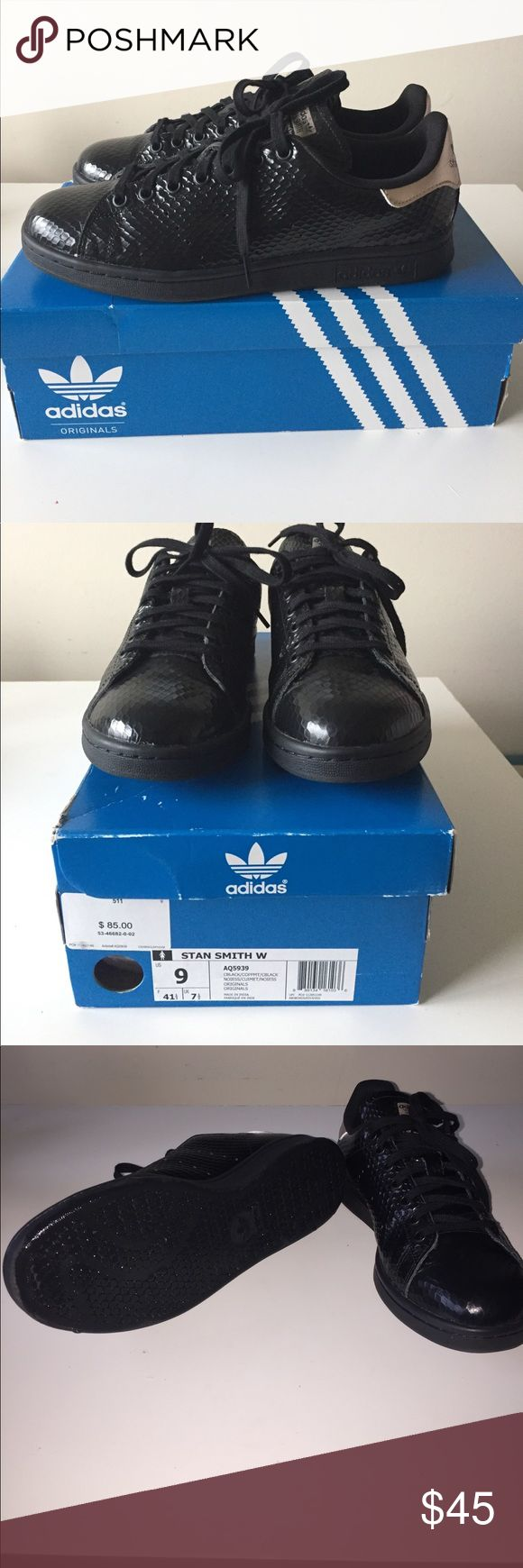 Adidas Stan Smith Sneakers Worn twice, great condition and perfect fit. Jeremy Scott x Adidas Shoes Athletic Shoes
