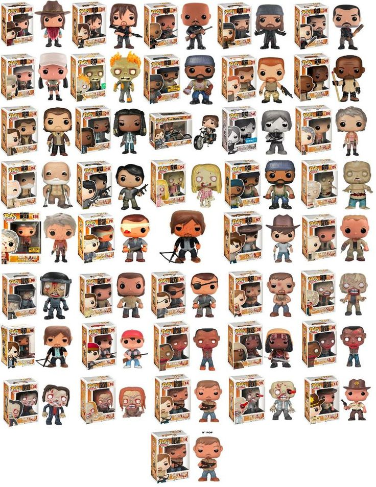 The Walking Dead Funko POP! Vinyl Figures Bundle (41 Figures)