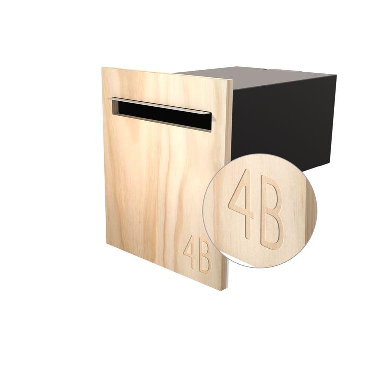 Javi Fence Mount Letterbox.
