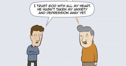 What It's Like Explaining Depression Meds to Many Christians | mental health, articles on depression, articles on faith, religion, Christianity
