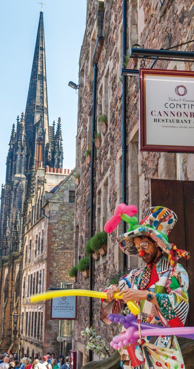 Street Performers Edinburgh Festivals