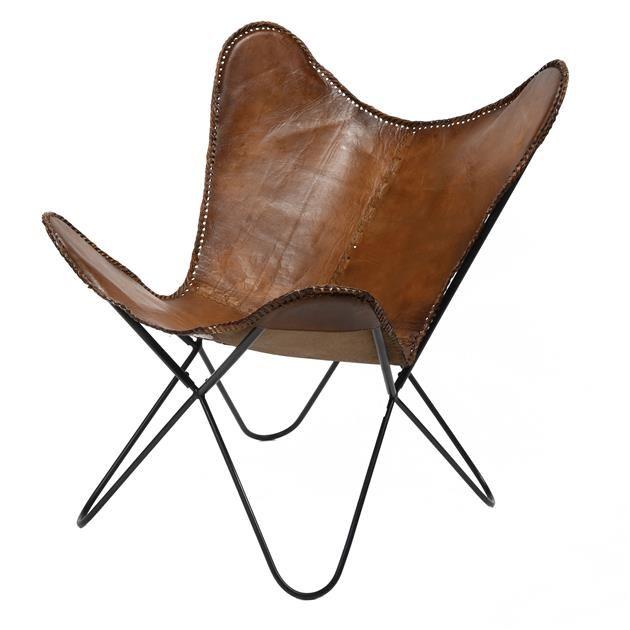 Fjoldi Pakkninga 2 Breidd I Cm 76 Haed I Cm 85 Dypt I Cm 72 Nettothyngd I Kg 7 125 Rummal I M3 0 08 Butterfly Chair Leather Chair Chair