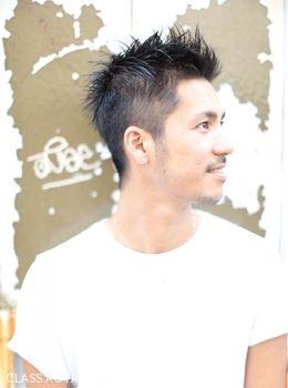 2015 髪型 メンズヘア ソフトモヒカンスタイル×無造作ピンパーマ