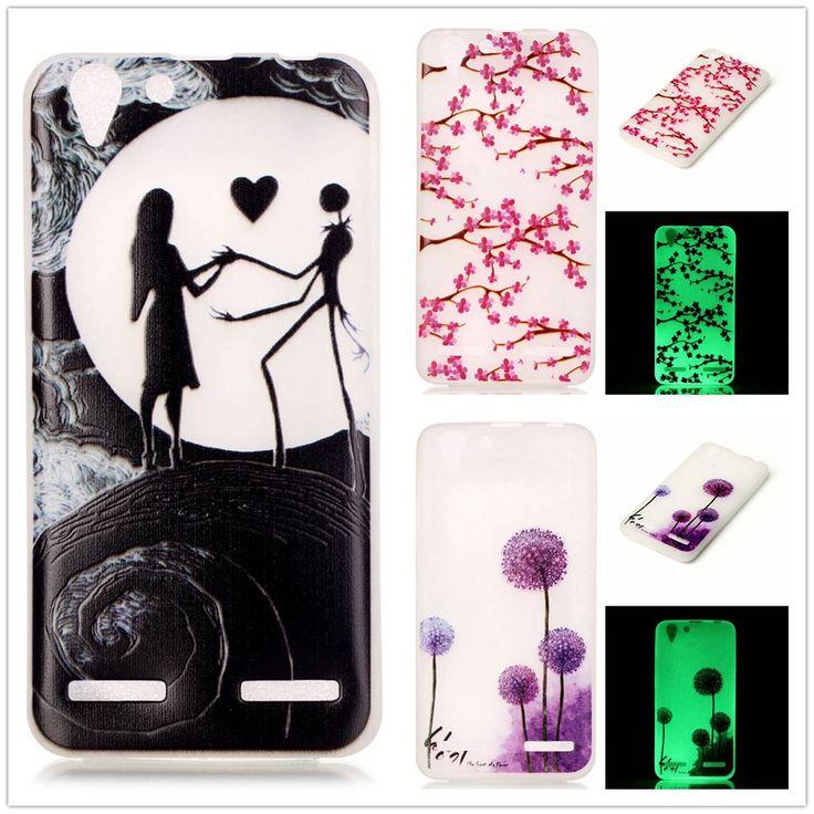Luminous case For Fundas Lenovo Vibe K5 Case For Coque Lenovo K5 K 5 Glow in the Dark Noctilucent Soft TPU Phone case Cover