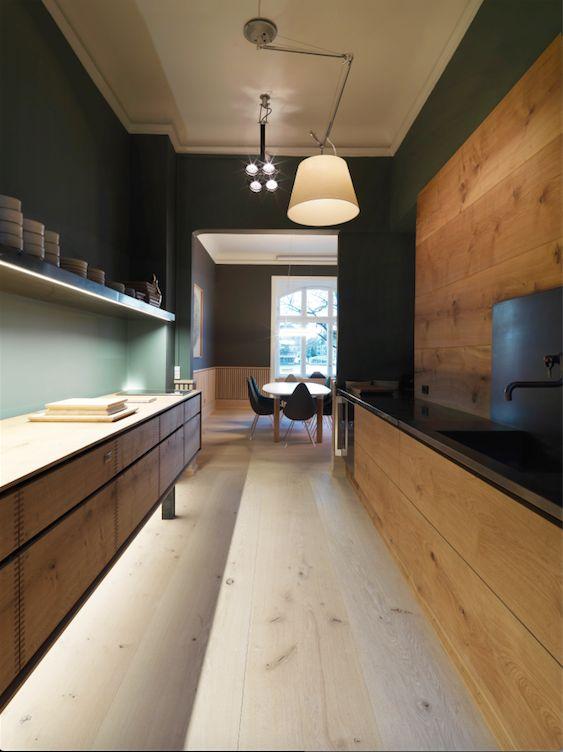 We're delighted to unveil the #GrandCuisine kitchen in partnership with the #Dinesen Copenhagen showroom