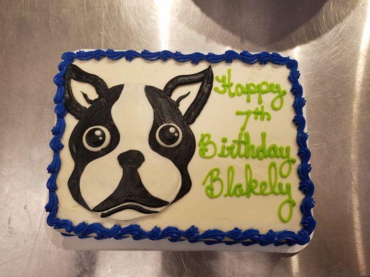Boston Bull Terrier Cake Pop