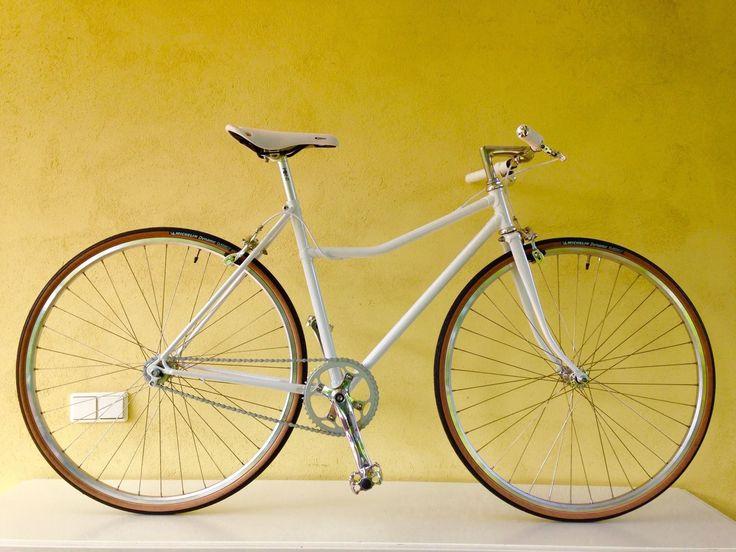 Singlespeed Fahrrad Meral Rahmen, komplett neu aufgebaut, Klassiker 28er, RH 48 | eBay