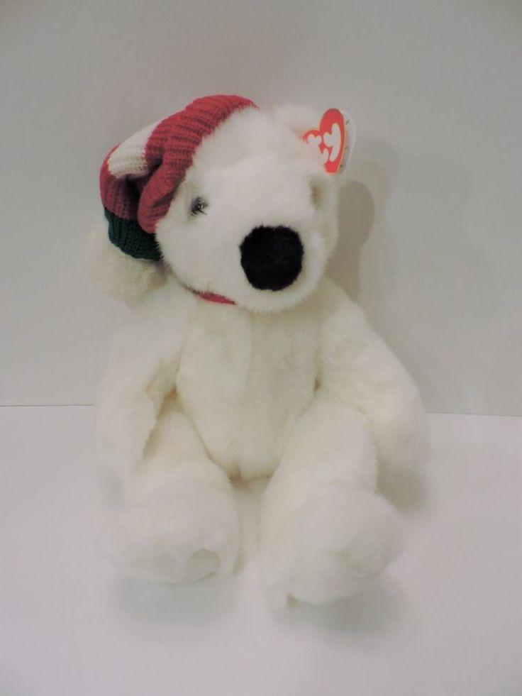 Ty Classic 1997 Beanie Buddies Holiday Bear 5700 #Ty