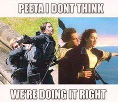 The Hunger Games Igrzyska Śmierci Mockingjay Kosogłos Peetniss Katniss Peeta