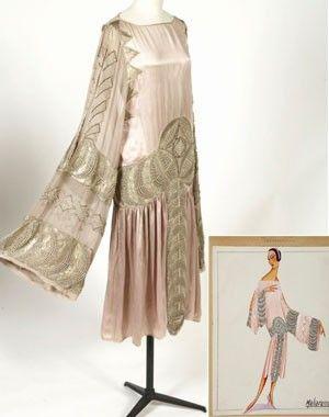 """Robe """"Maharanée"""" de Jeanne Lanvin, vers 1925 (Photo © Patrimoine Lanvin / Sylvain Bardin)"""