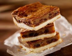 Butter Tart Shortbread Bars