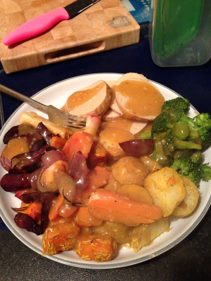 Slimming world syn free Sunday lunch :-)
