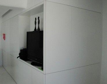 Bookcase, Wardrobe, TV Unit  Hidden Door