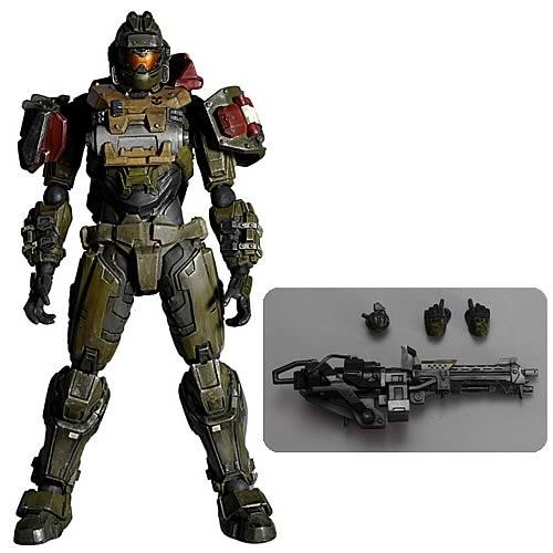 Halo Reach Jorge Play Arts Kai Action Figure - Square-Enix ...