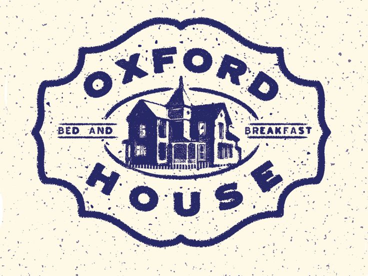 Oxford House Bed And Breakfast Logo
