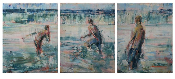 """""""Undertow"""" 70cm x 55cm (x3). For more information please contact REDSEA Gallery on (07) 3162 2230 © Joseph Rolella"""