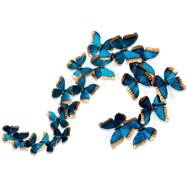 Schmetterlinge in der Flugskulptur von Copper Art (445 $) ❤ gefällt auf Polyvore featu …