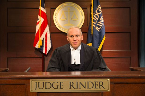 Judge Rinder - As camp as Christmas and twice as funny, but also a brilliant Lawyer - compulsive afternoon viewing