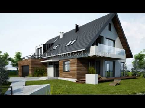 ▶ projekty domów jednorodzinnych - YouTube