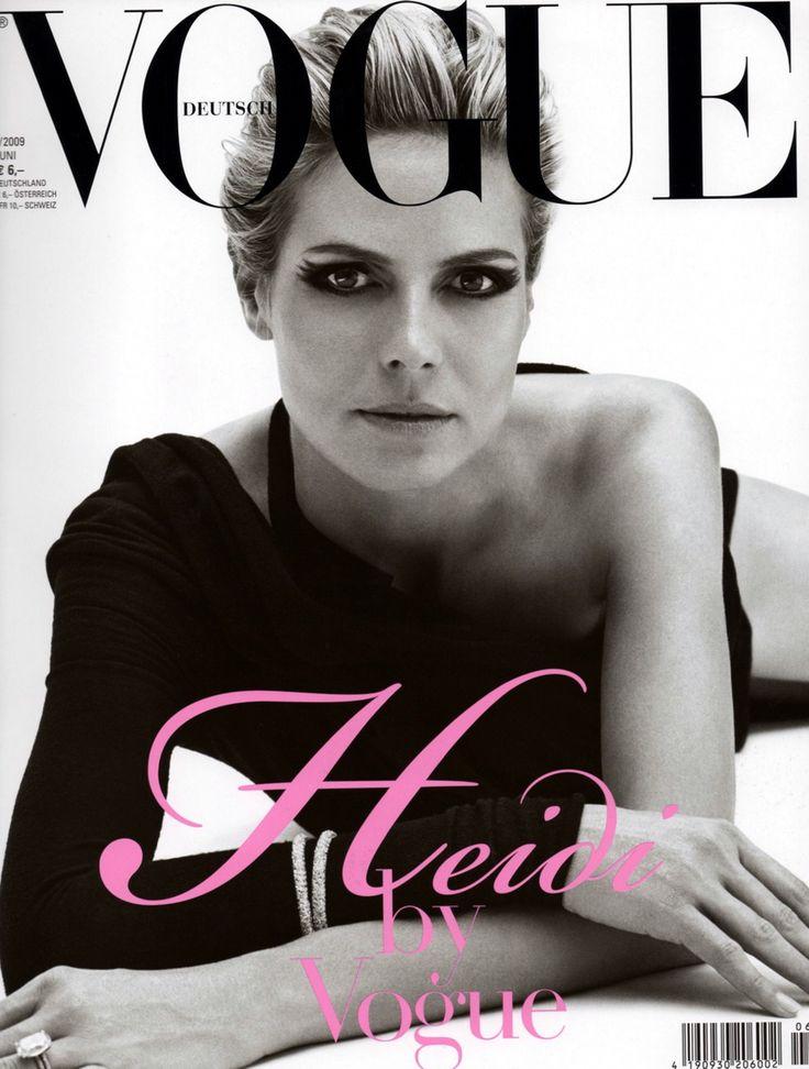 Heidi in German Vogue