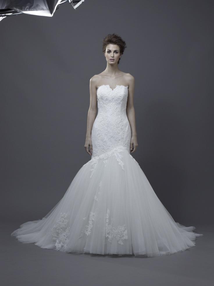 Igen Szalon Enzoani wedding dress - Heather #igenszalon #weddingdress #enzoani