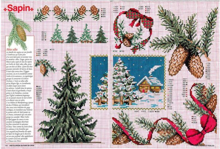 Gallery.ru / Фото #103 - Encyclopedie du point de croix ( Fleurs arbres et feuilles ) - tymannost