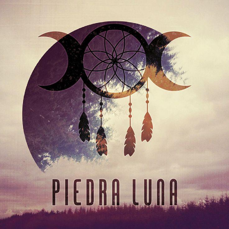 Diseño de logotipo Piedra Luna Chile.  Por Andiseño Estudio