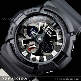 Buy Casio G-Shock Black Analog Digital 200M Watch GA-201-1A, GA201 - Buy Watches Online | Casio NZ Watches