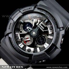 Buy Casio G-Shock Black Analog Digital 200M Watch GA-201-1A, GA201 - Buy Watches Online | Casio NZ Watches