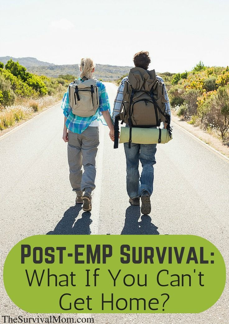 Post-EMP Survival: What If You Can't Get Home?
