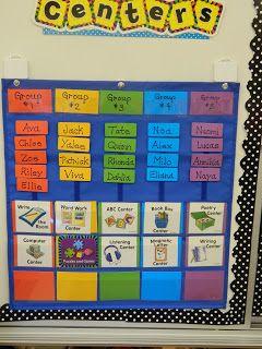 Kindergarten Milestones: Organizing My Kinders! Keep for possible reorganization of reading stations.