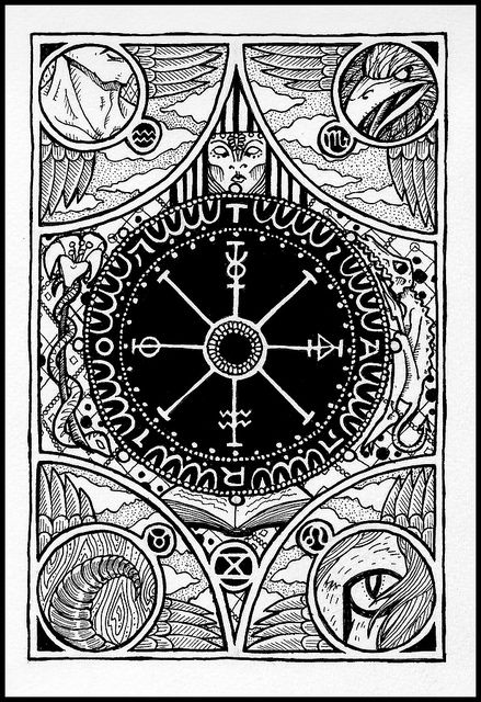 The Wheel of Fortune Tarot- for marketing