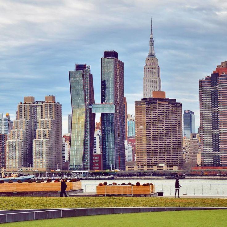 Midtown Manhattan across the East River New York City by @gigi_nyc | newyork newyorkcity newyorkcityfeelings nyc brooklyn queens the bronx staten island manhattan