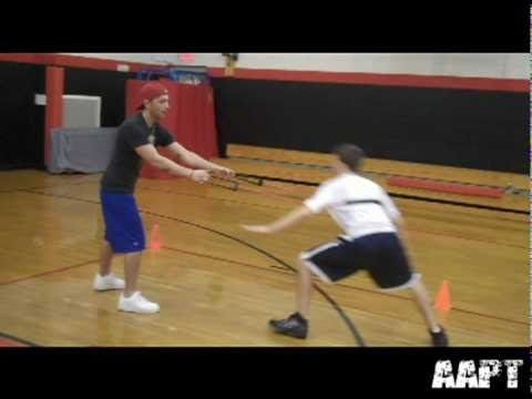 Basketball Drills Conditioning Speed, Agility, and Leg Strength - YouTube