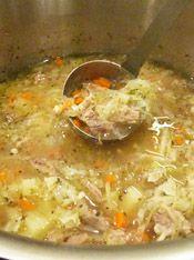 Ukrainian Cabbage Soup