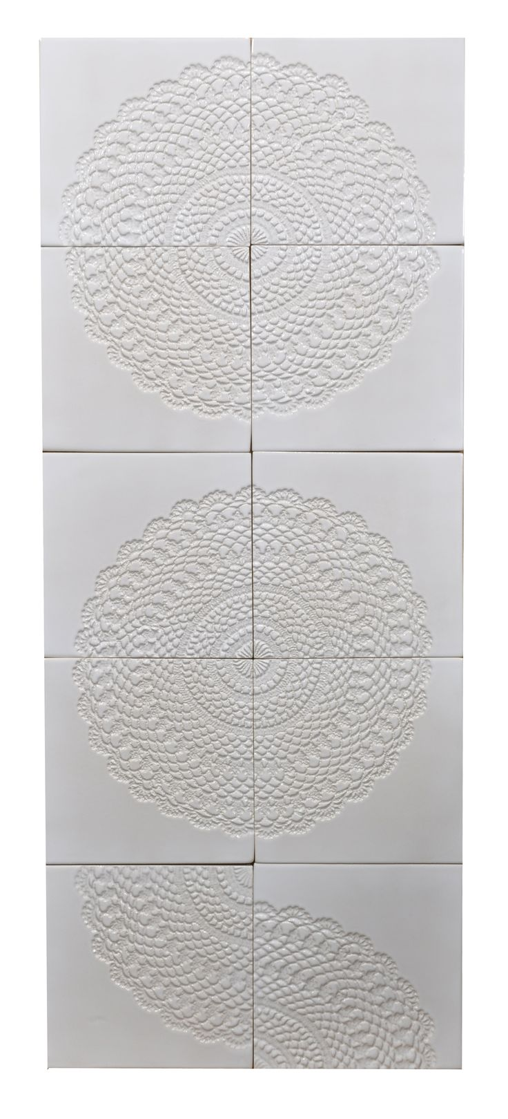 "Handmade tiles ""large round crown"". Design and construction Inżynieria Designu."