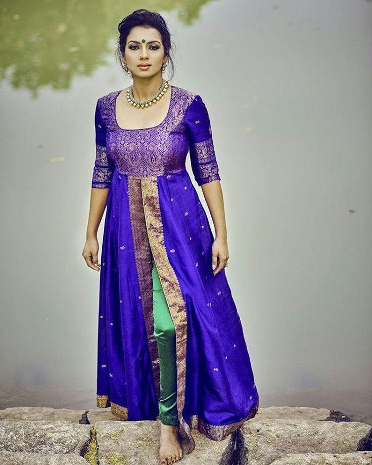 Best 25 Saree Dress Ideas On Pinterest Blouse Designs