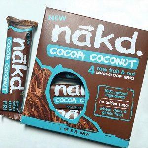 Nakd Barres Cacao Noix de Coco (x4)