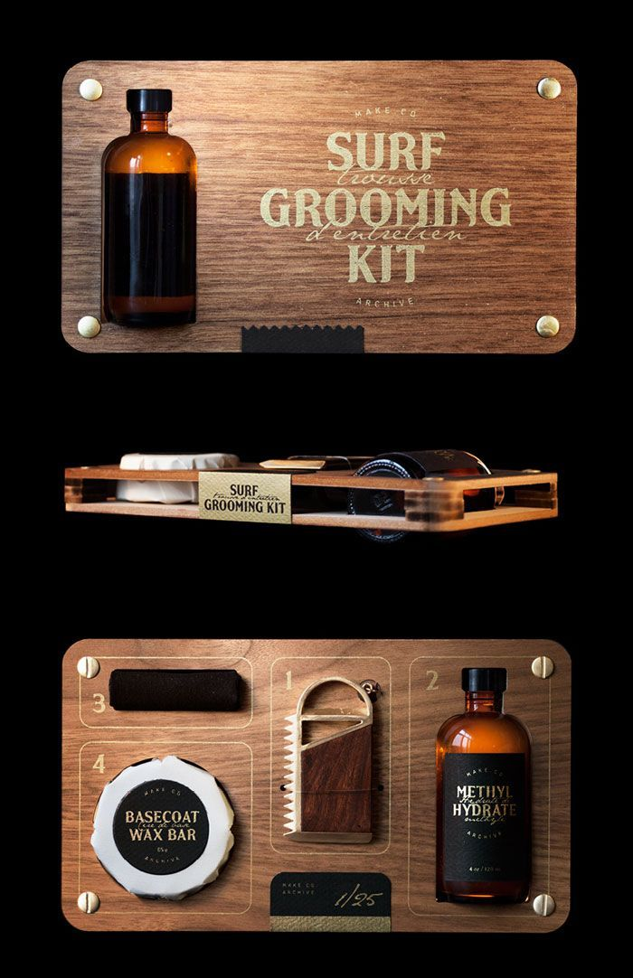 Surf Grooming Kit by Studio Point and Make Co.