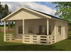 Riverside Prefab Wooden Cabin Kit For Sale From bzbcabinsandoutdoors.net Solid wood cabin kits for, hunting, fishing,camping, guesthouse or garden cabin.