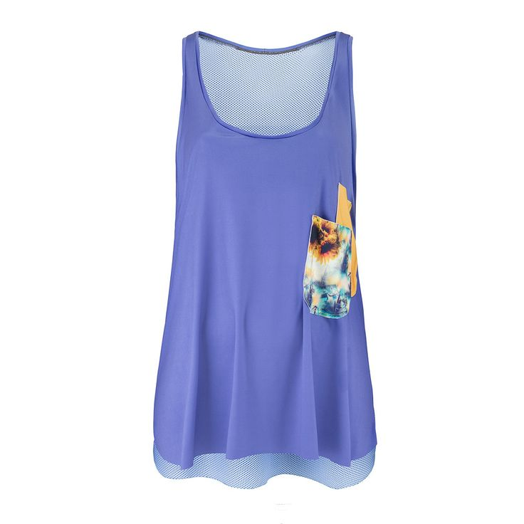 NOLY Tank Top Sunflower Morning - Women's fitness and yoga clothing. Great for active gym workouts or aerobic sessions. Romance sport and fashion