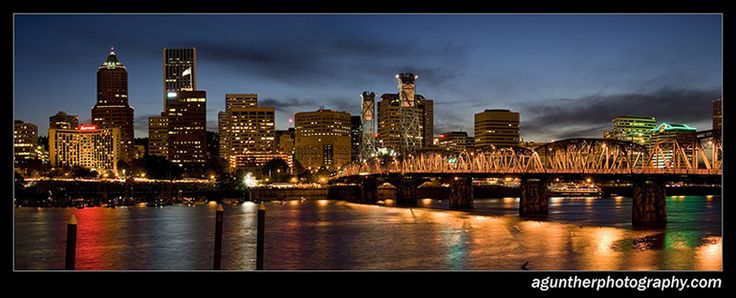 Portland, Oregon: Travels Remembered, Favorite Things, Favorite Places, City Lights, Andre Gunter, Gunter Photography, Downtown Portland, Beautiful Oregon