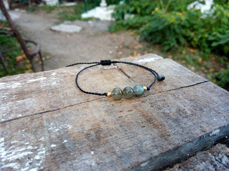 macrame moonstone bracelet,macrame labradorite bracelet