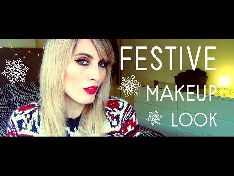 MichelaIsMyName: FESTIVE Makeup Look | MICHELA ismyname ❤️