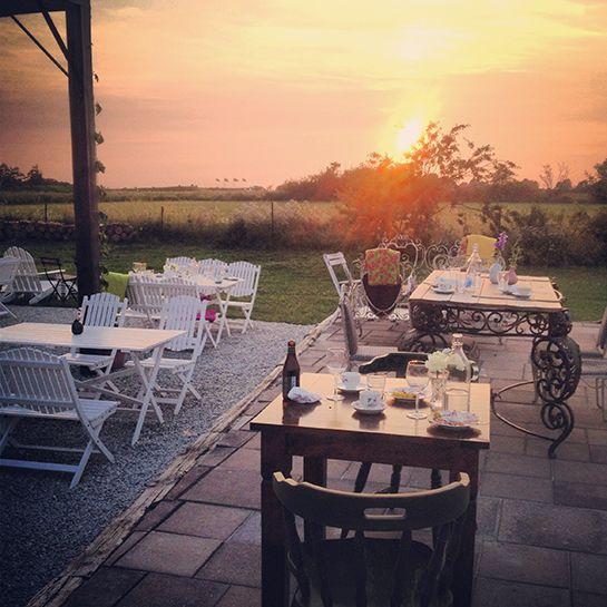 "Hotel Stelors great restaurant ""Kitchen"", Gotland – Gotlandstips.se  #gotland #gotlandstips #sweden #sunset #pergula #hotelstelor"