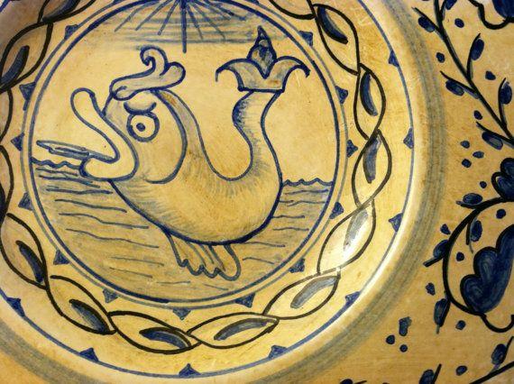Tuscany Maiolica Pottery Italian Tuscan Art Ceramic
